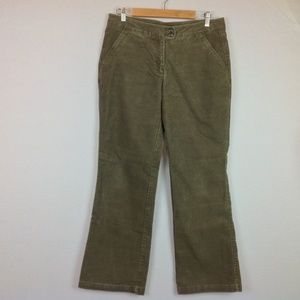 Exofficio Corduroy Pants Womens 12 Army Green Boot